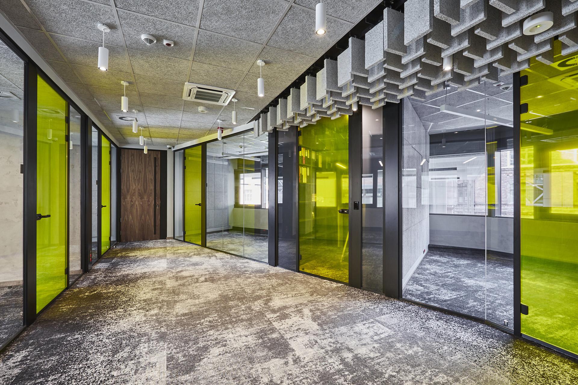 gsw office ściany szklane
