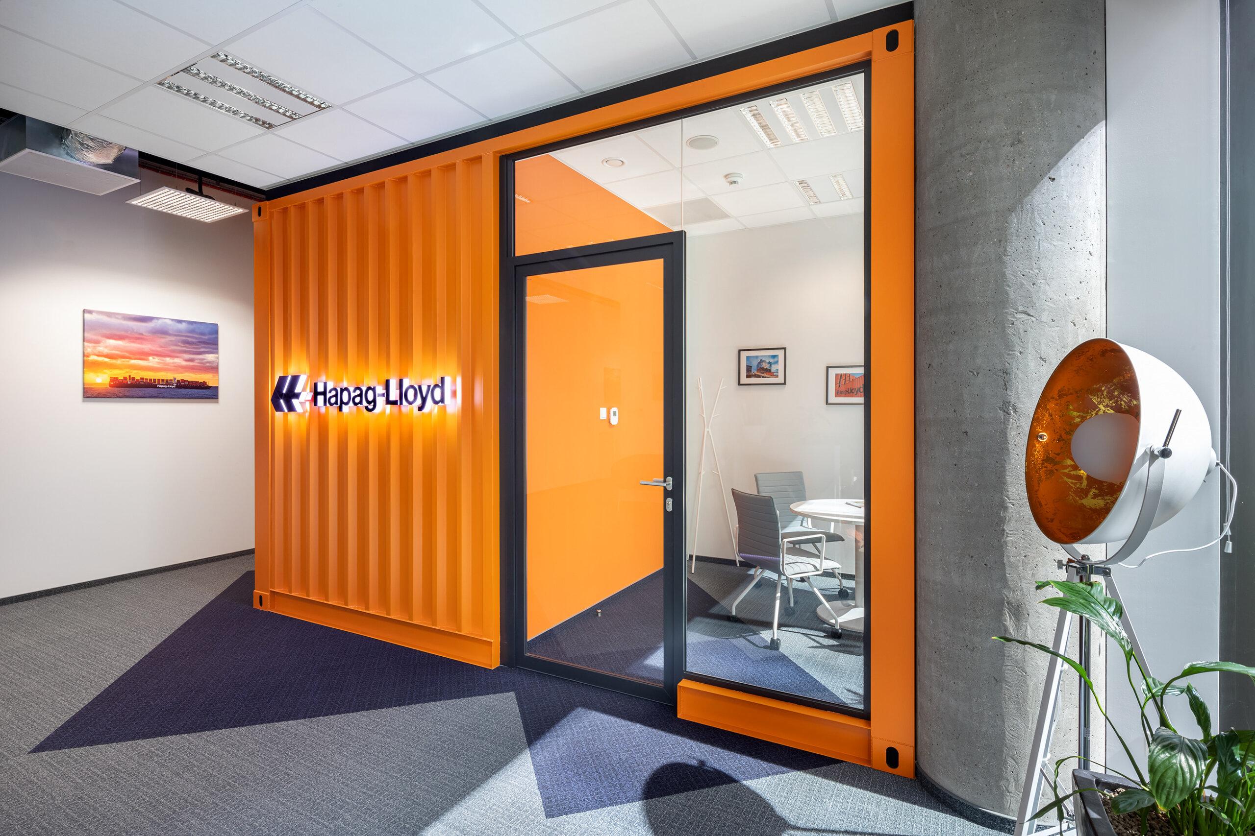 system ścian szklanych Hapag Lloyd