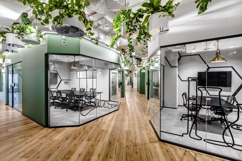Glass System systemy ścian biurowych