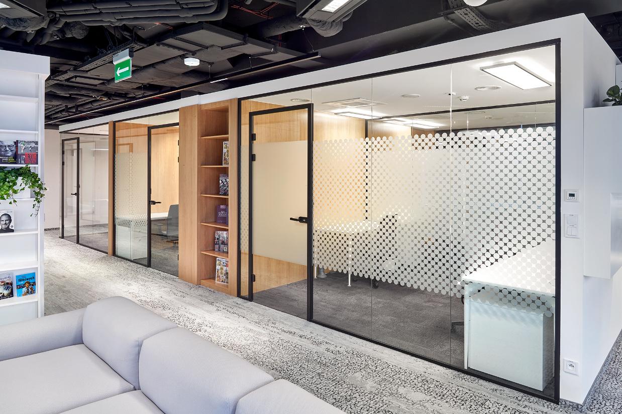 system ścian szklanych bobo coworking