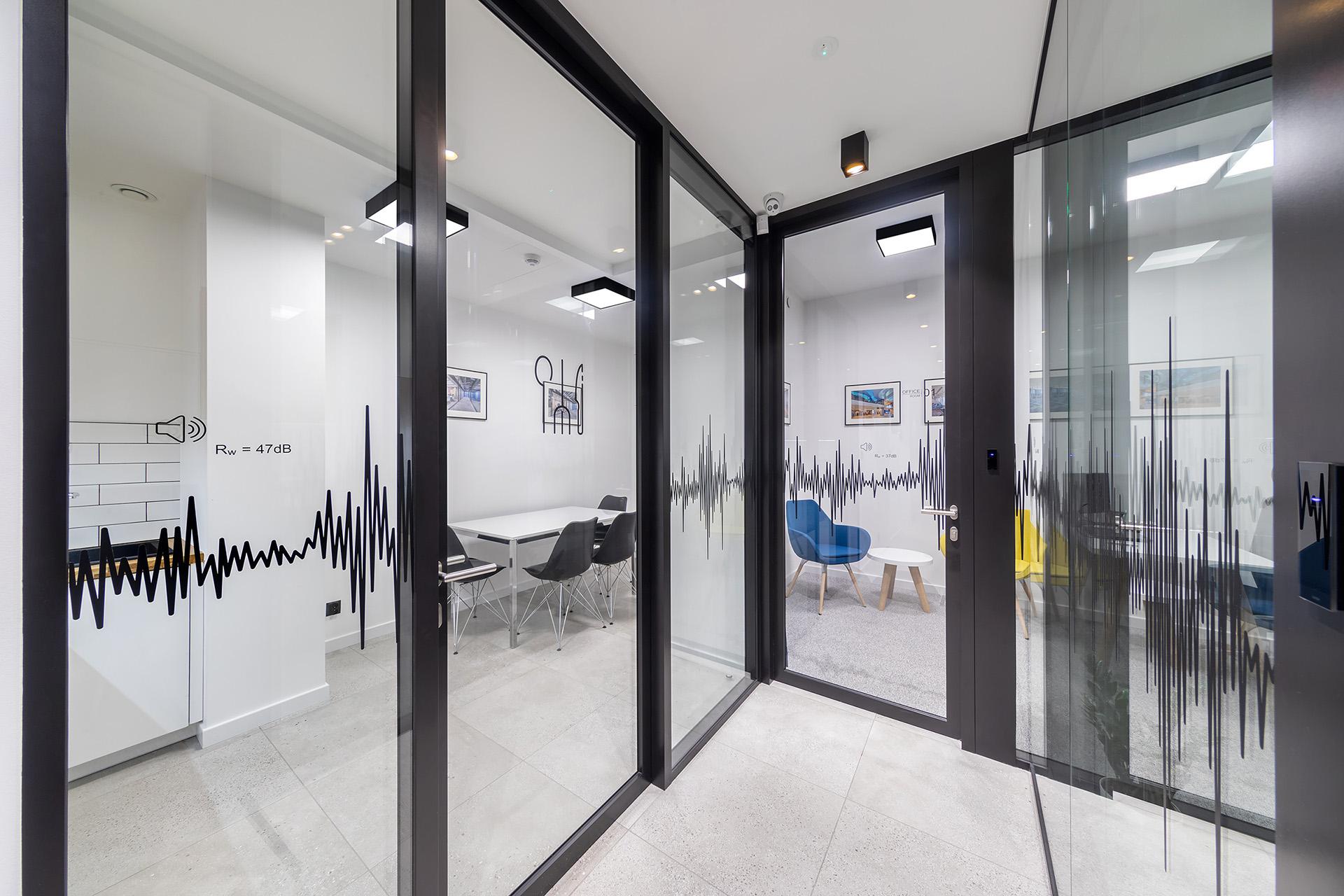 Systemowe drzwi urban plus do biura